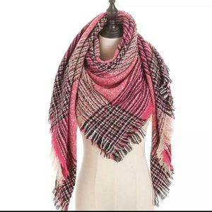 Accessories - Cashmere +Acrylic Long Scarf
